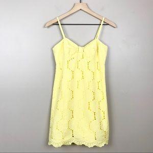 Lilly Pulitzer Lemon Sorbet Eyelet Kelley Dress